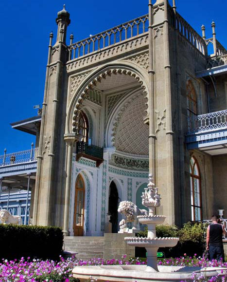 Архитектура воронцовского дворца
