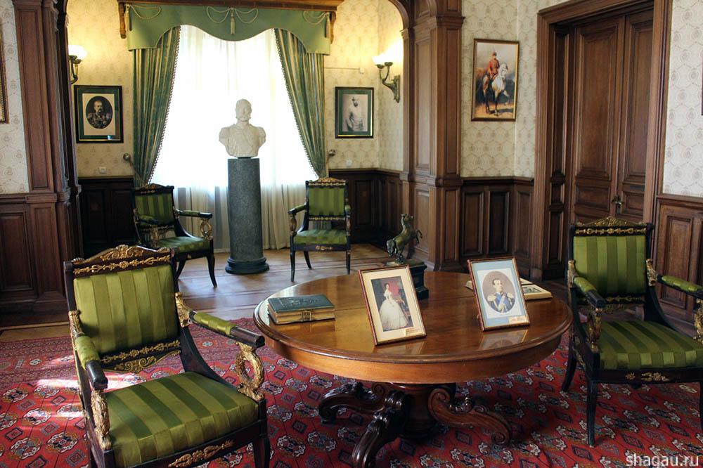 Массандровский дворец изнутри