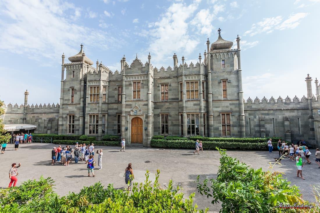 Воронцовсккий дворец Алупка