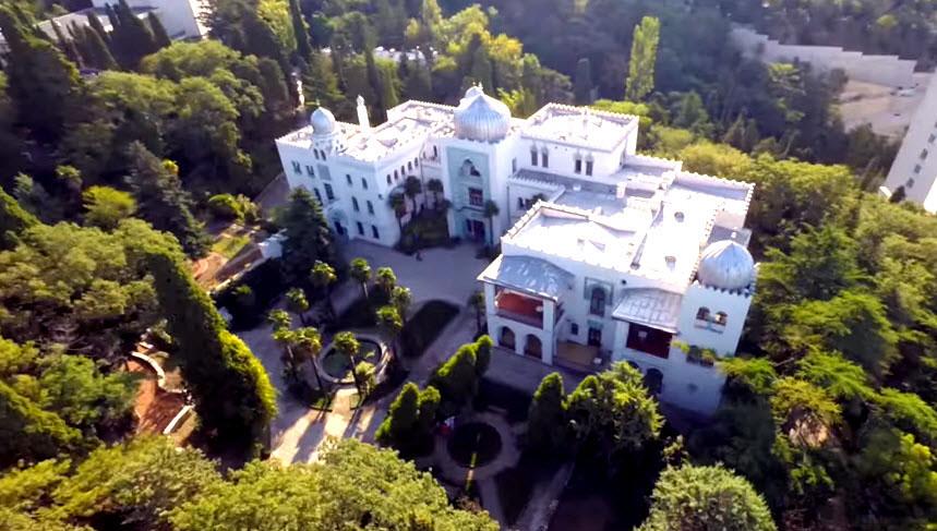 Дворец Дюльбер в Ялте