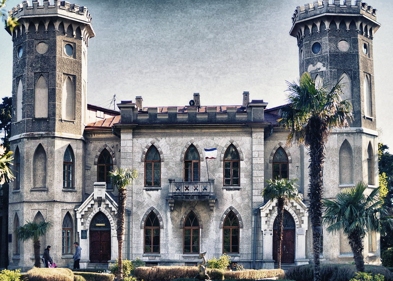 дворец Паниной Гаспра