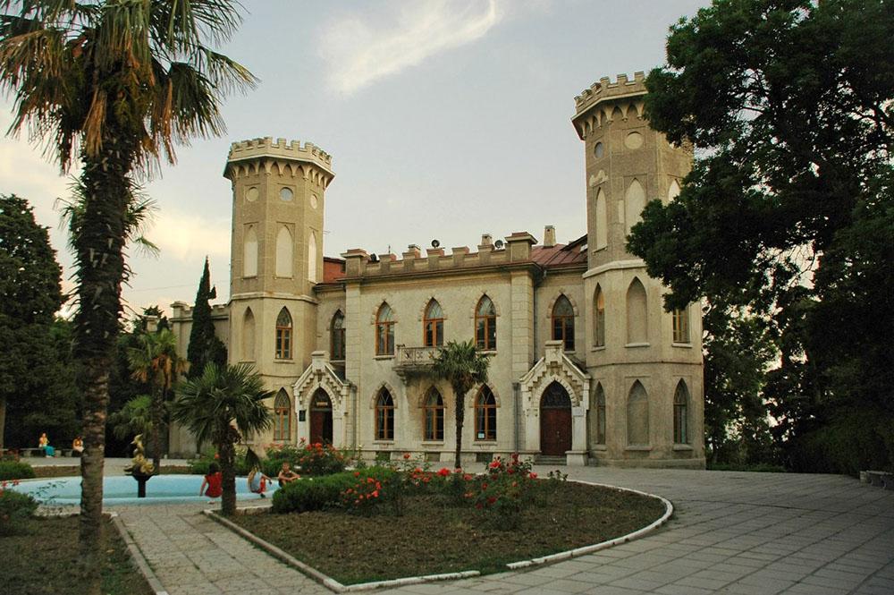 дворец Голицына Гаспра