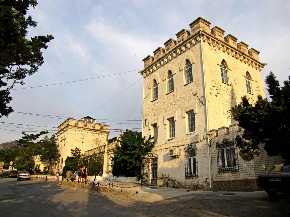 дворец Голицына в Новом свете