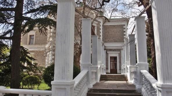 дворец графа Кузнецова Форос