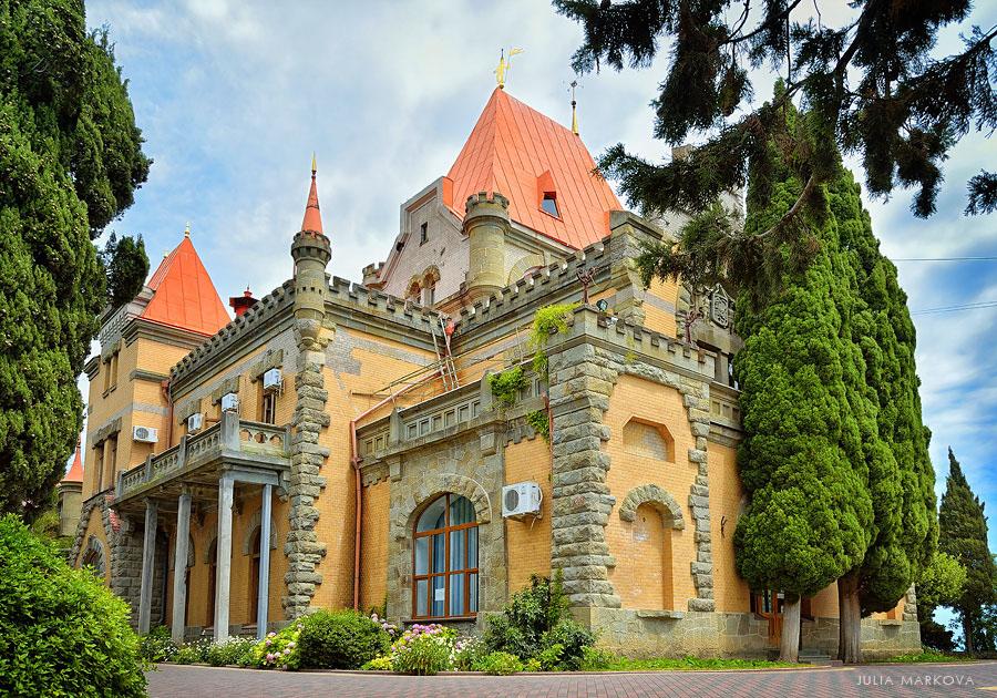дворец княгини гагариной алушта