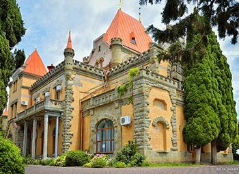 Дворец княгини Гагариной – замок в округе Алушты