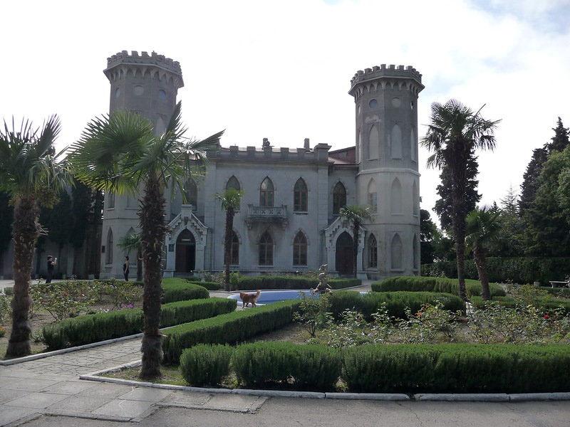 дворец князя Голицына в Гаспре