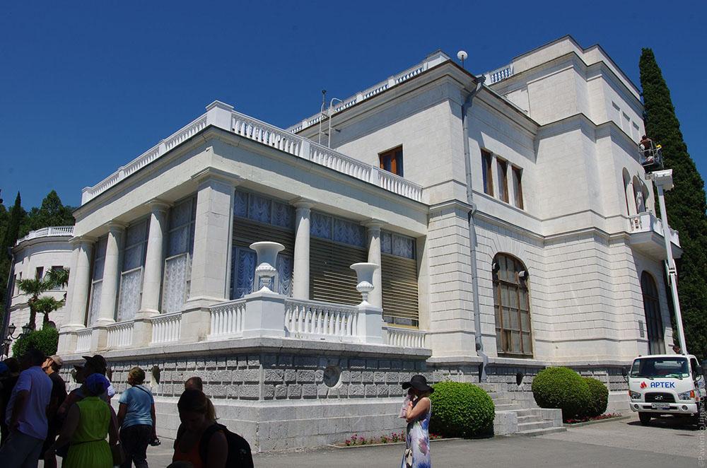 дворец Суук Су в Гурзуфе