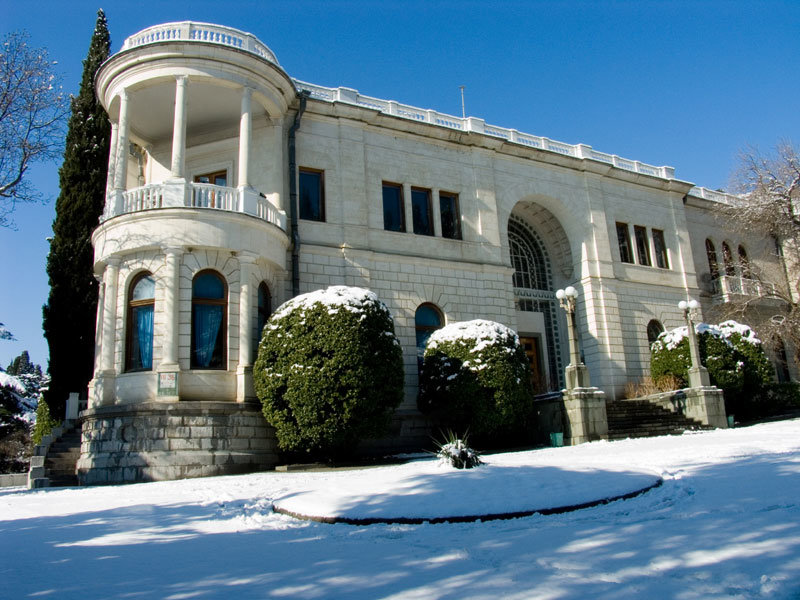 дворец Суук Су в Крыму