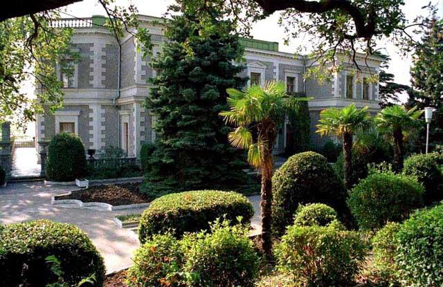 Кузнецовский дворец в форосе