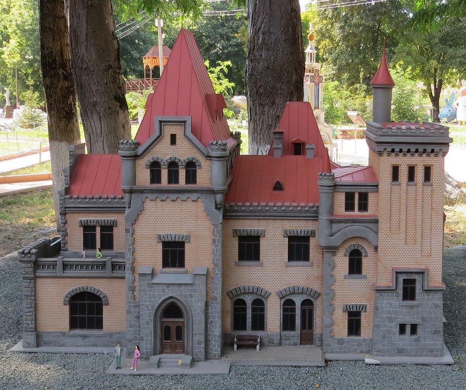 замок княгини гагариной макет из парка миниатюр