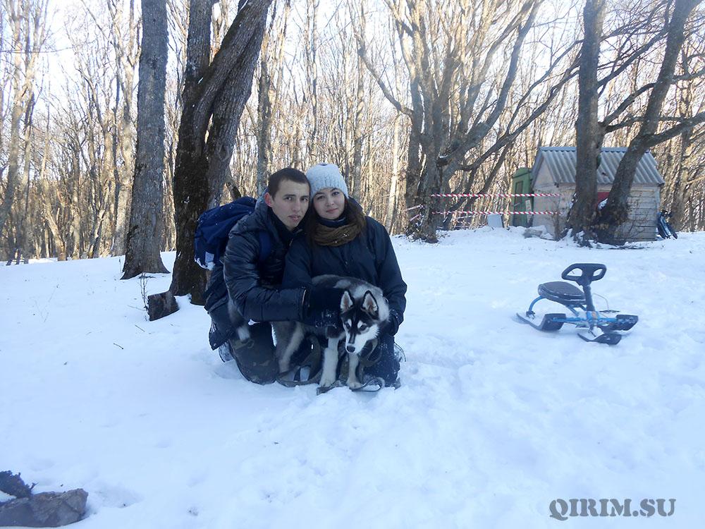 Ангарский перевал Крым отдых зимой