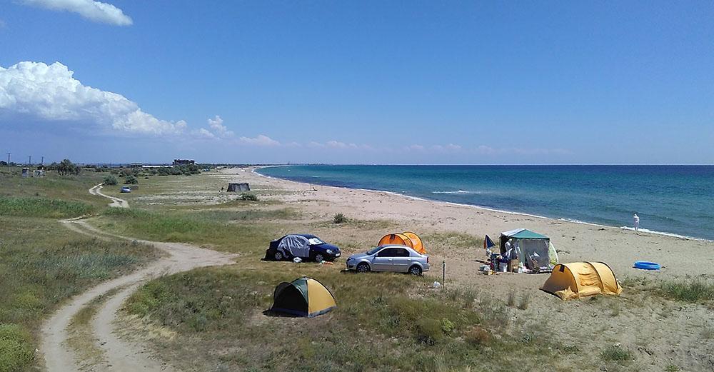 Беляус отдых с палаткой