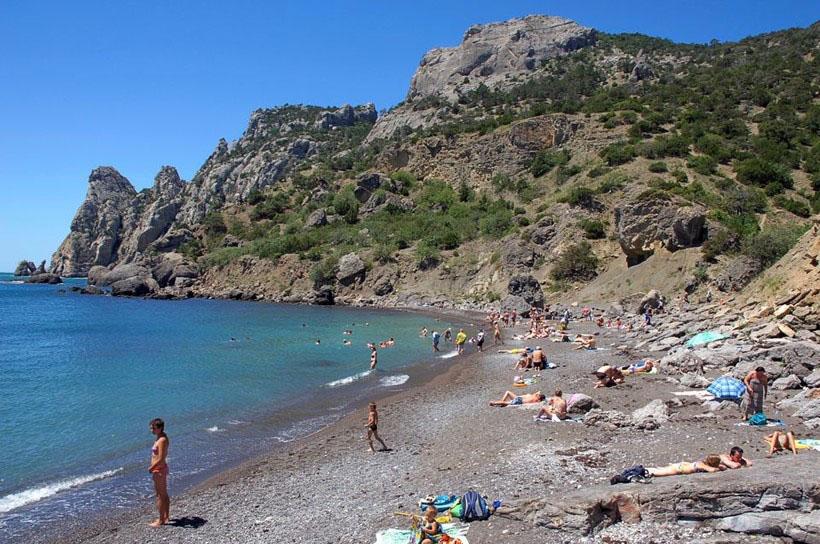 Царский пляж Крым