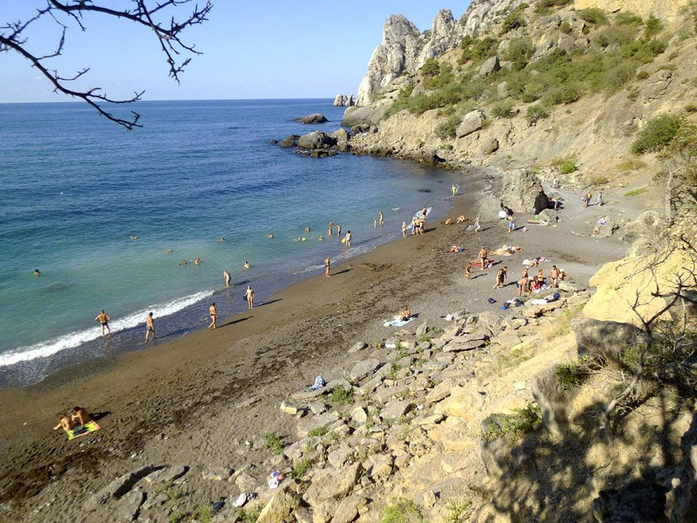 Царский пляж летом