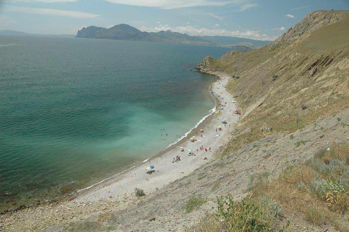 Орджоникидзе Агатовый пляж