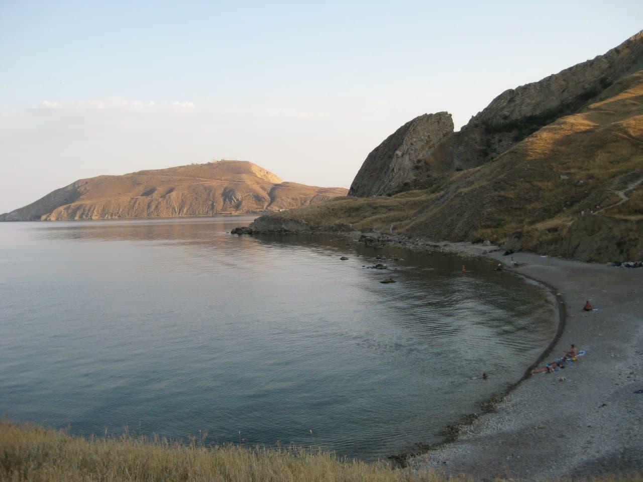 Орджоникидзе пляж Краснячка 3