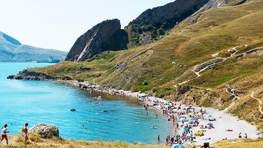 Орджоникидзе пляж Краснячка