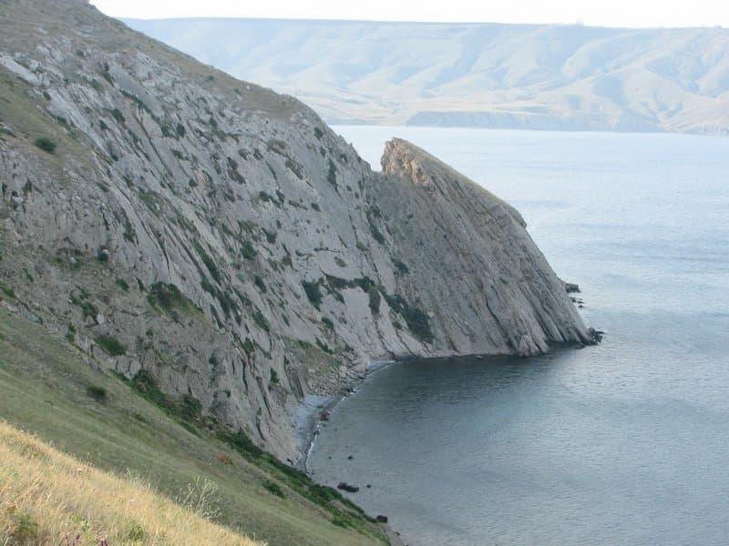 Орджоникидзе пляж под седлом 2
