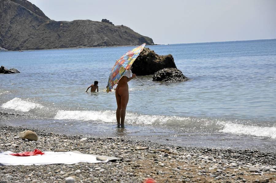 Орджоникидзе Пляж за четвертым мысом 1