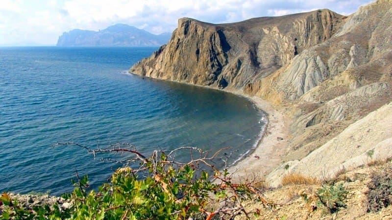 Орджоникидзе Пляж за четвертым мысом 2