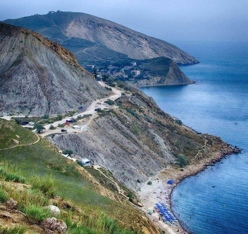 Орджоникидзе пляжи