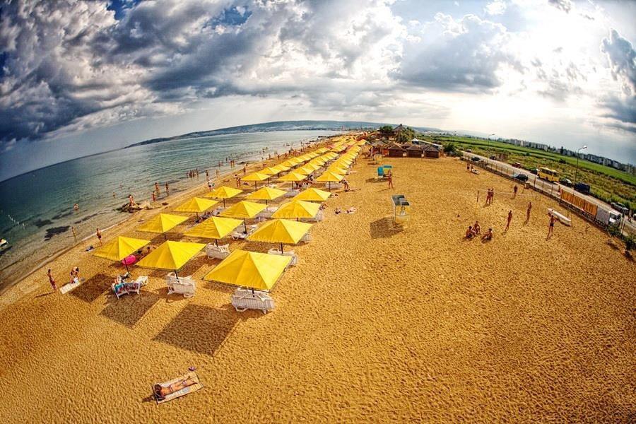 пляж Феодосия- Береговое