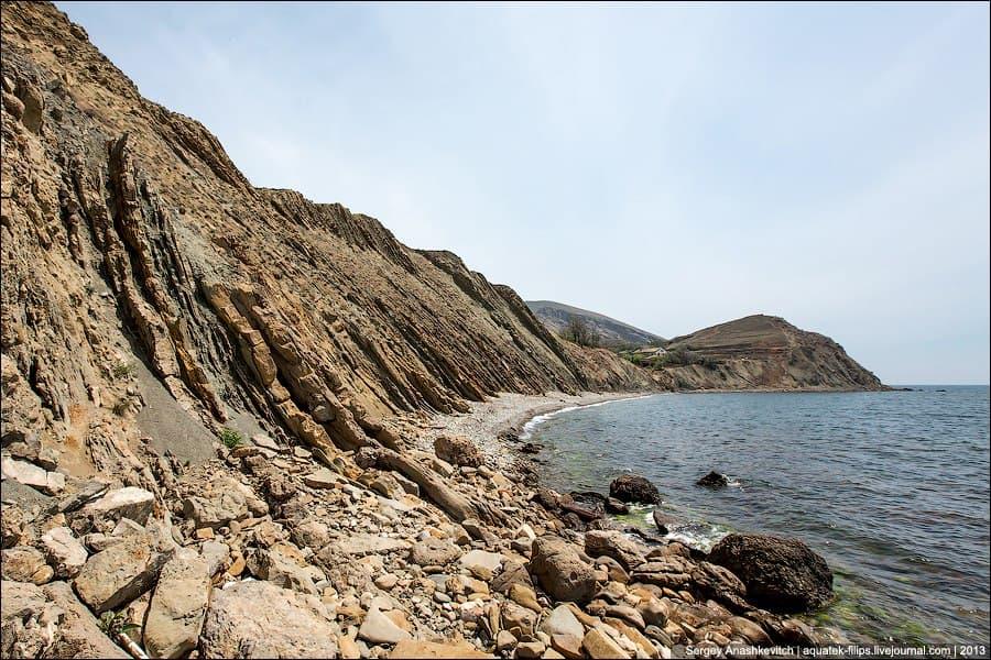 пляж Пилорама в Орджоникидзе