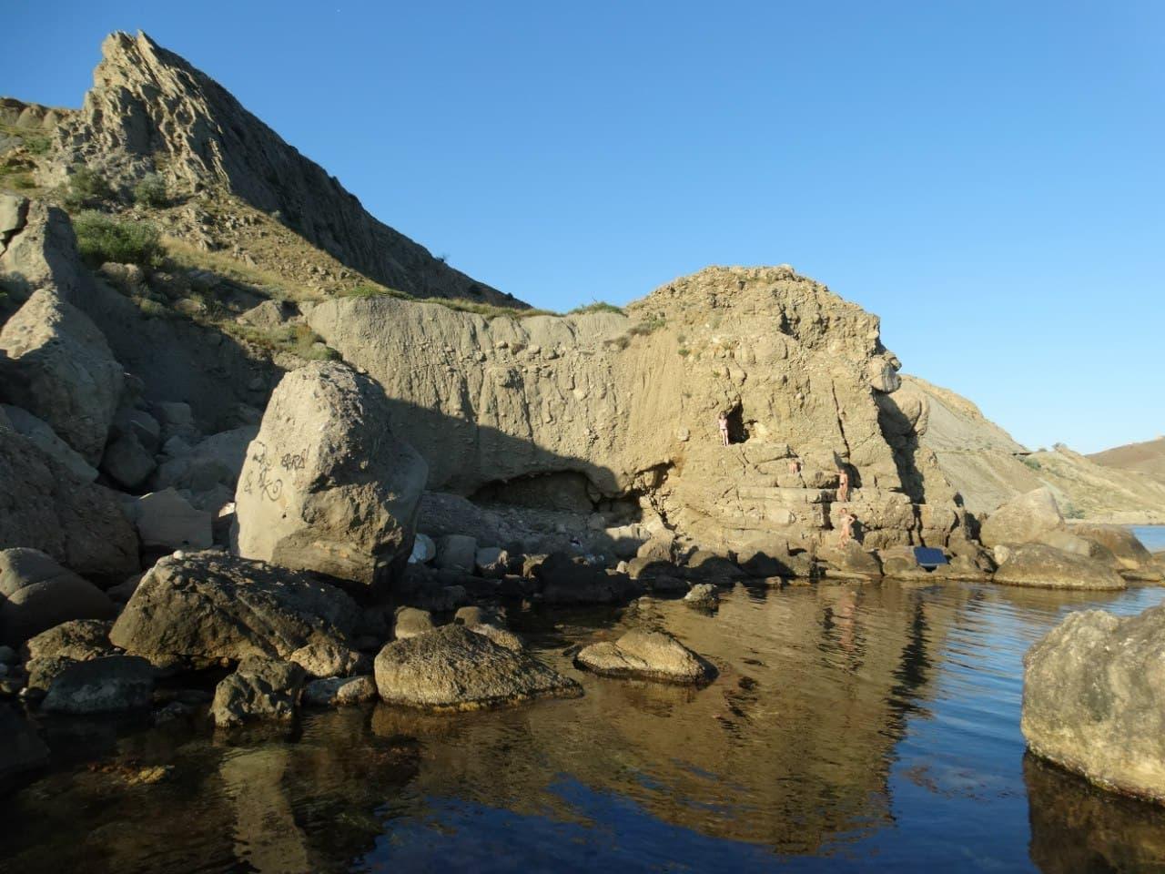 пляж Сапог в Орджоникидзе