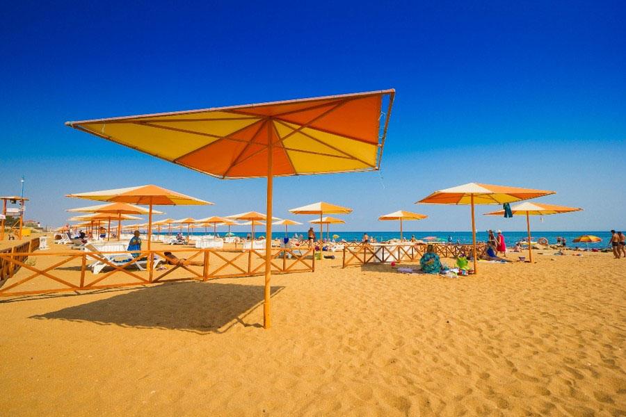 пляж золотые пески Феодосия