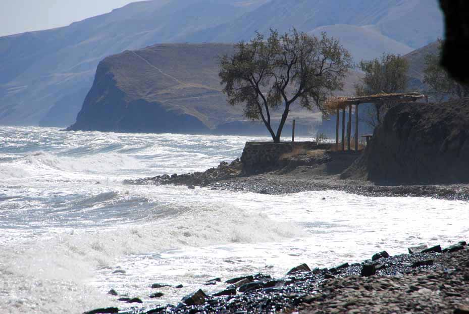 Пляжи Козьей бухты Орджоникидзе