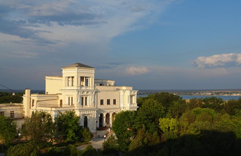 усадьба Попова в Крыму