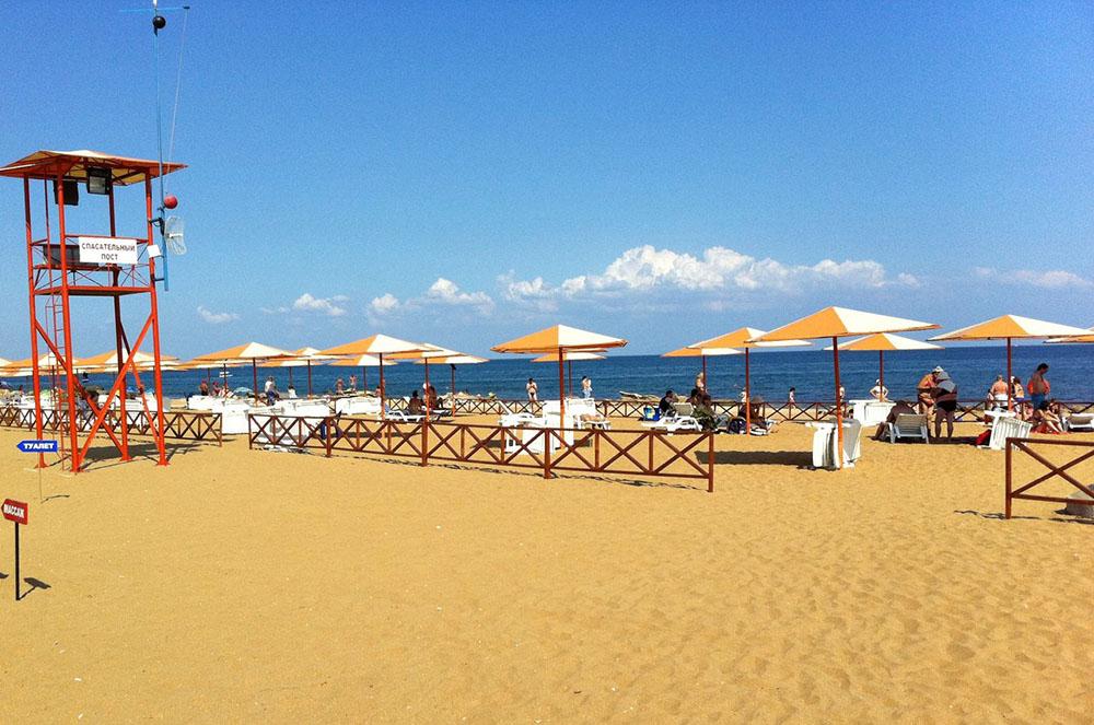 Золотой пляж Крым