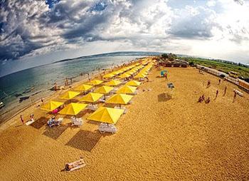 золотой пляж миниатюпа