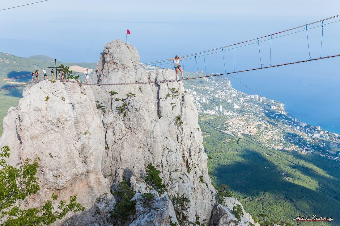 Ай-Петри навесной мост