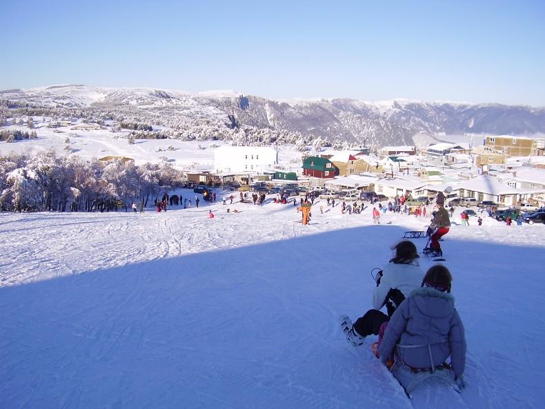 Отдых в горах в Крыму зимой