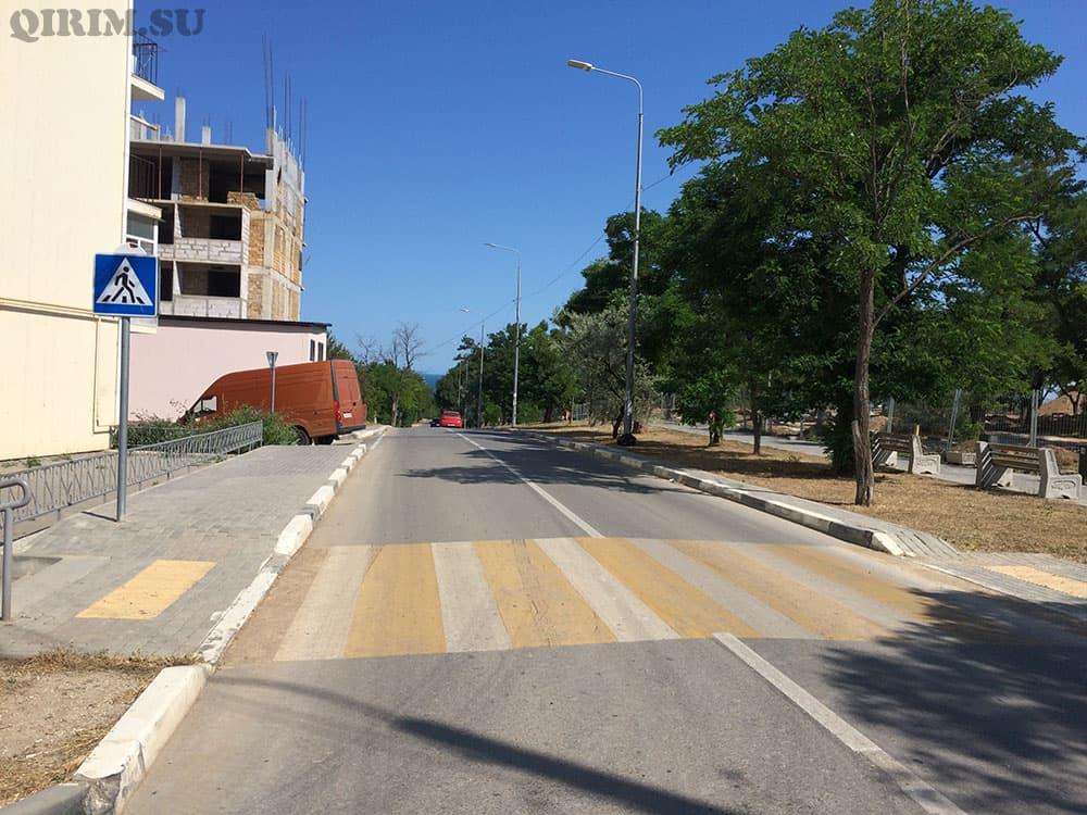 дорога на Учкуевку