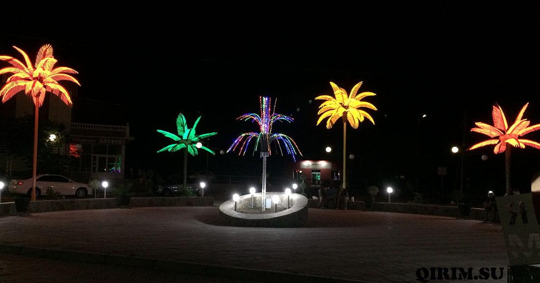 Межводное пальмы