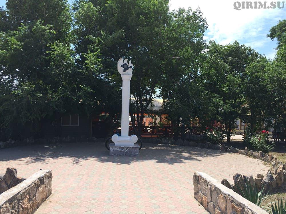 Межводное памятник про депортацию крымских татар