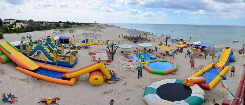 Детский пляж Дельфин Поповка