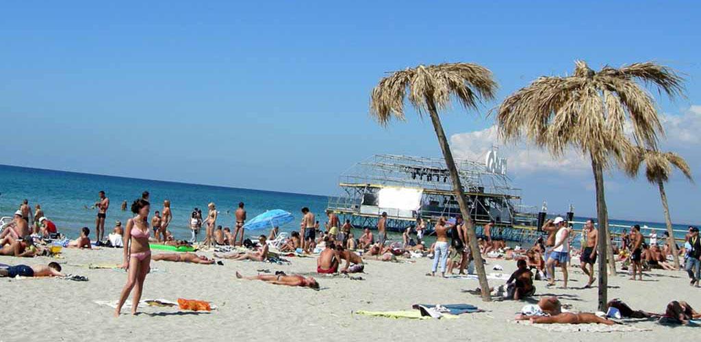 Поповка пляж