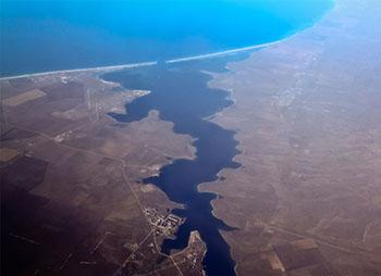 Озеро Донузлав - могучий источник Западного Крыма