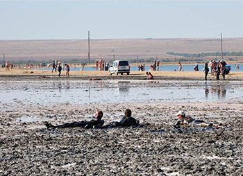 Джарылгач - целебное озеро Крыма
