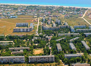 Поселок Мирный - в сердце Крымских степей