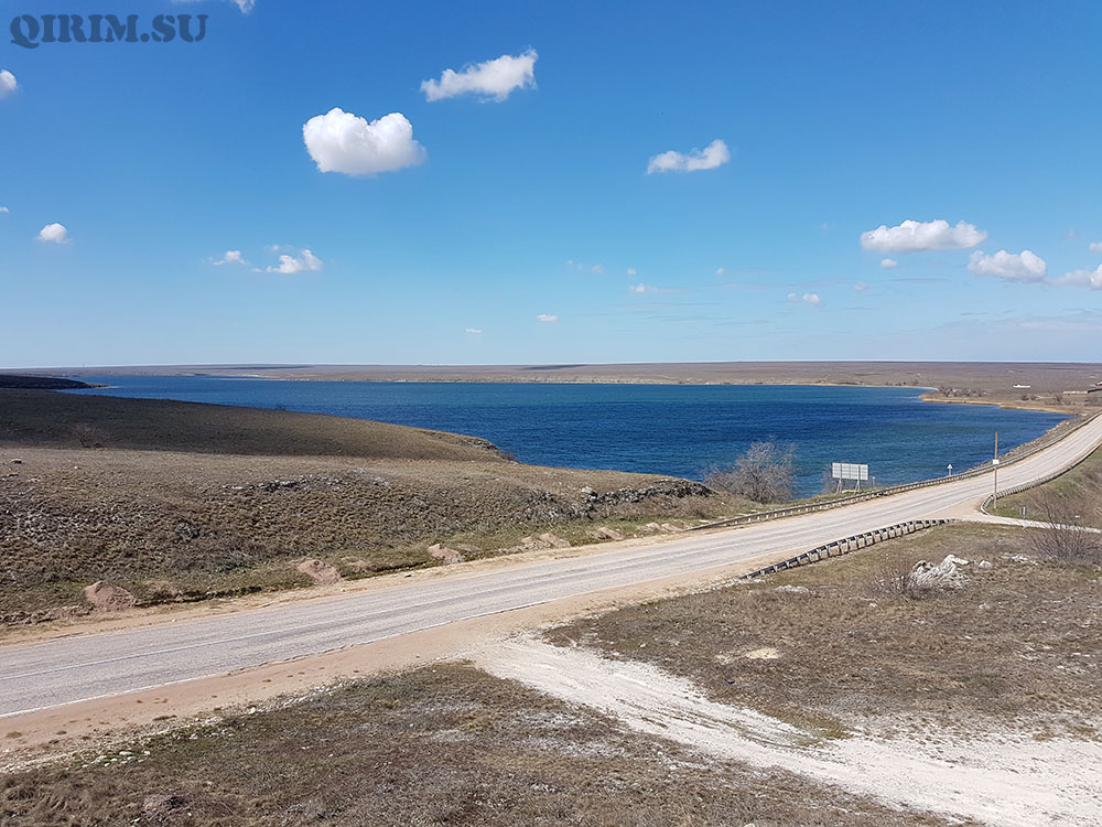 озеро Донузлав Крым