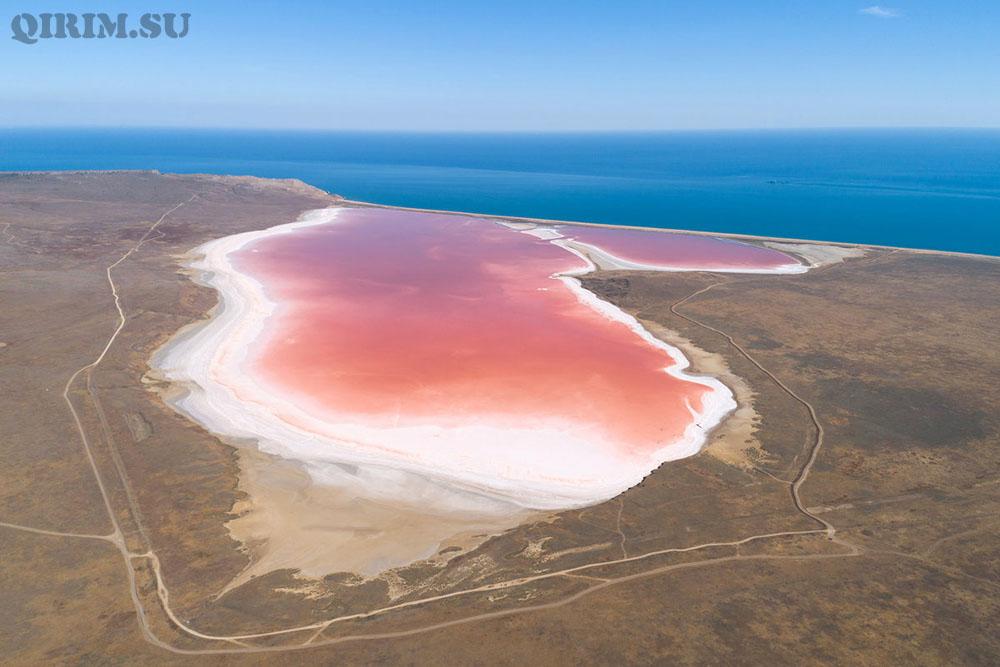 Розовое озеро Кояшское