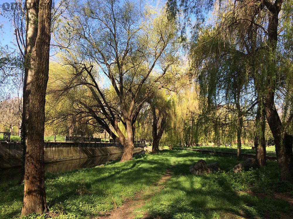 Гагаринский парк Салгир
