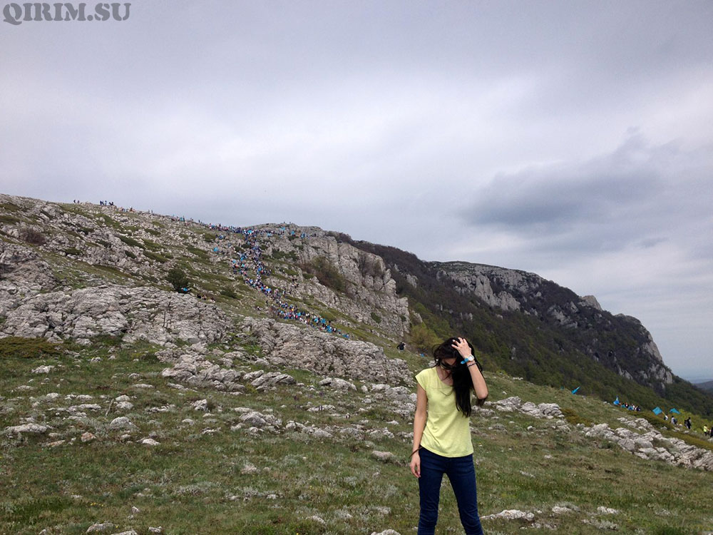 гора Чатыр-Дак - восхождение Крымских татар
