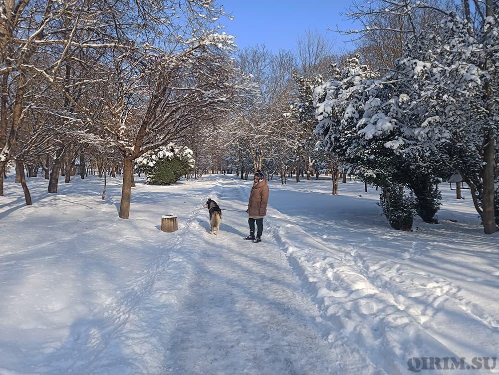 Прогулка по Гагаринскому парку