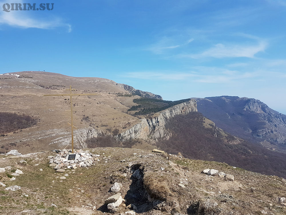 вид на Демерджи с горы Лысый Иван